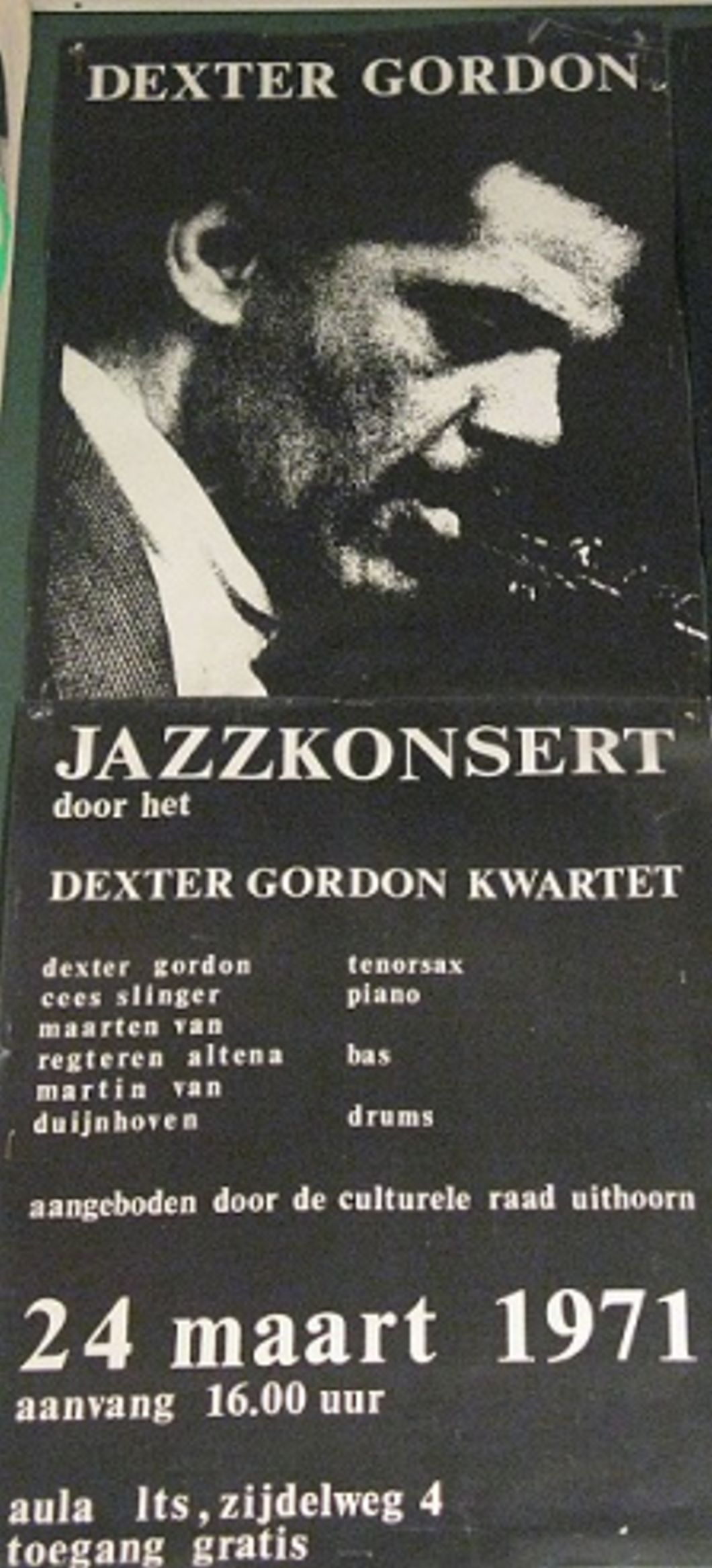 Dexter Gordon 1971